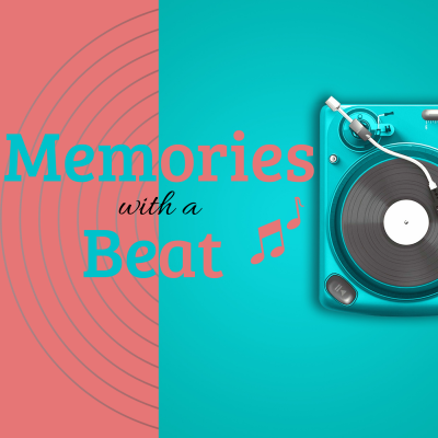 Memories with a beat logo
